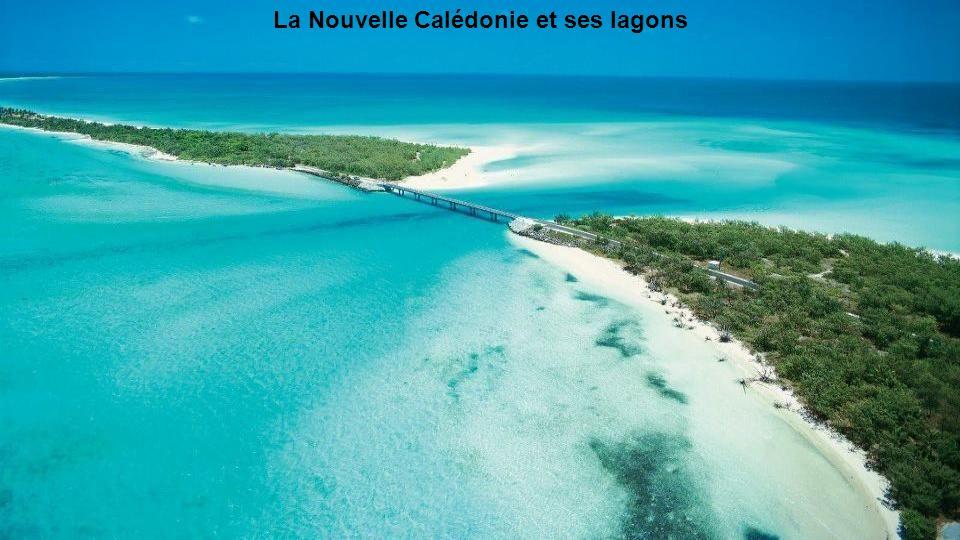 La Nouvelle Calédonie et ses lagons
