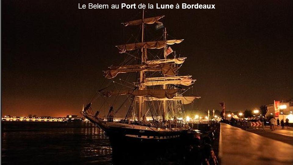 Le Belem au Port de la Lune à Bordeaux