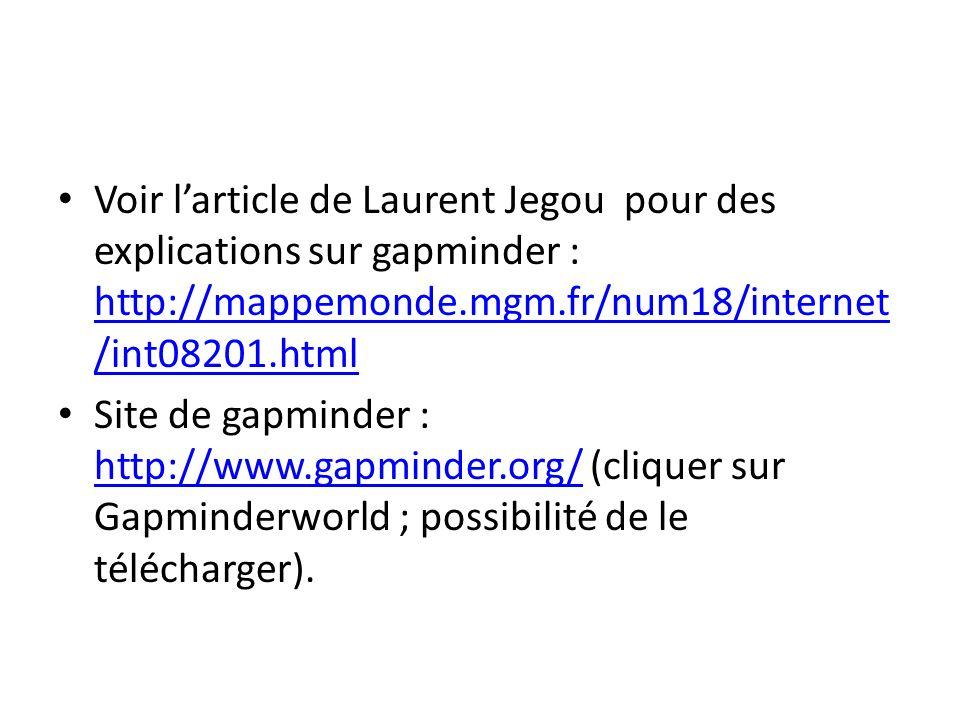 Voir l'article de Laurent Jegou pour des explications sur gapminder : http://mappemonde.mgm.fr/num18/internet/int08201.html