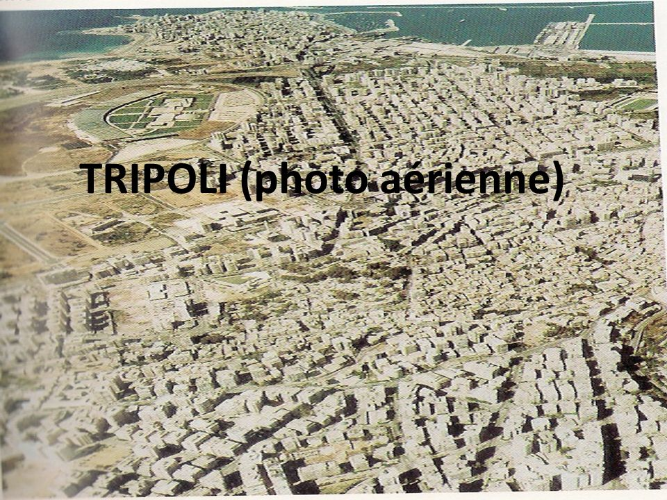 TRIPOLI (photo aérienne)