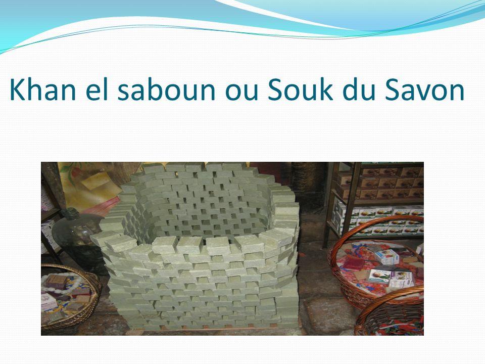 Khan el saboun ou Souk du Savon