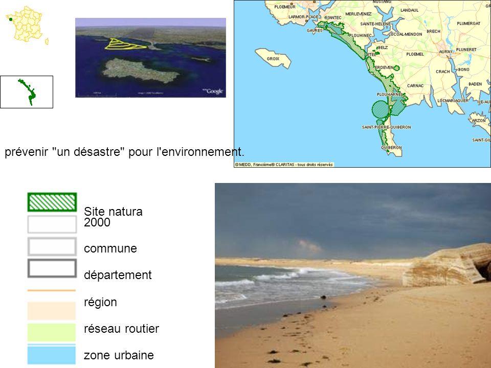 prévenir un désastre pour l environnement.