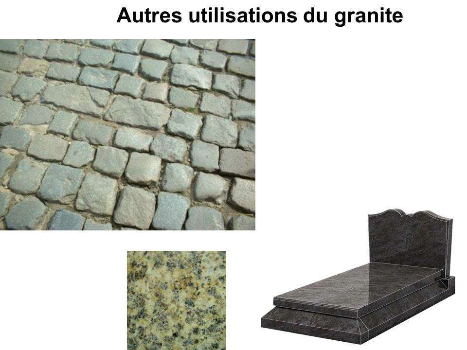 Autres utilisations du granite