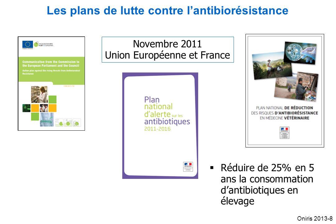 Les plans de lutte contre l'antibiorésistance