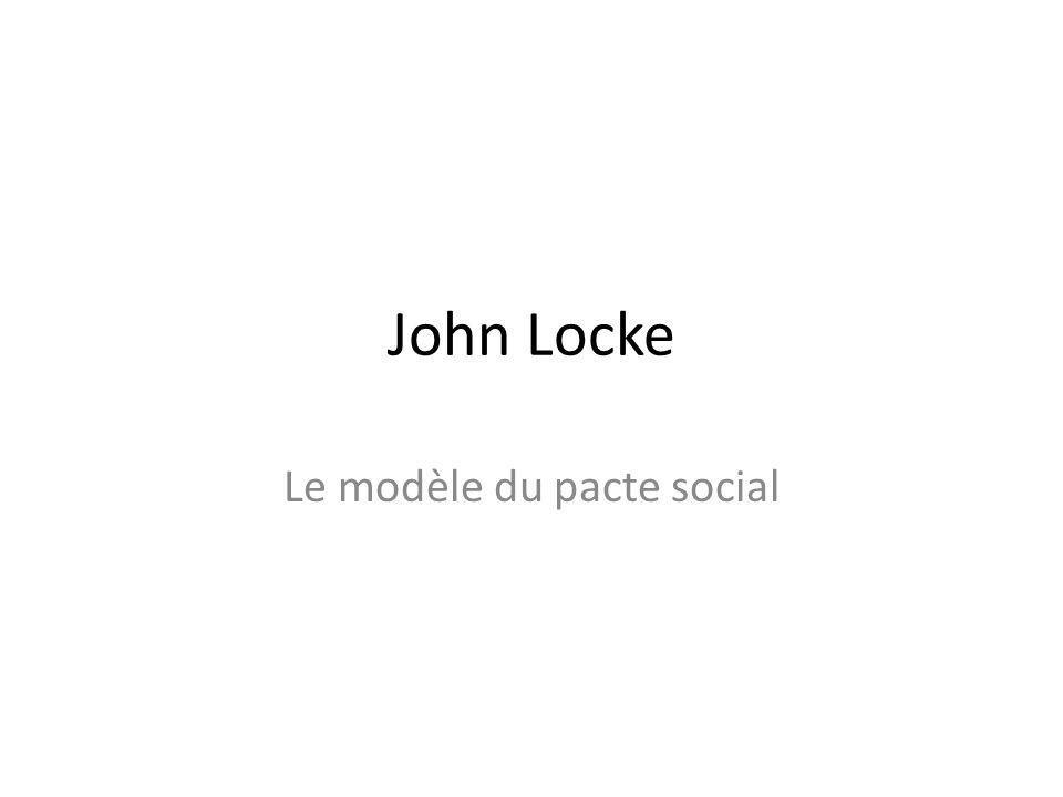 Le modèle du pacte social