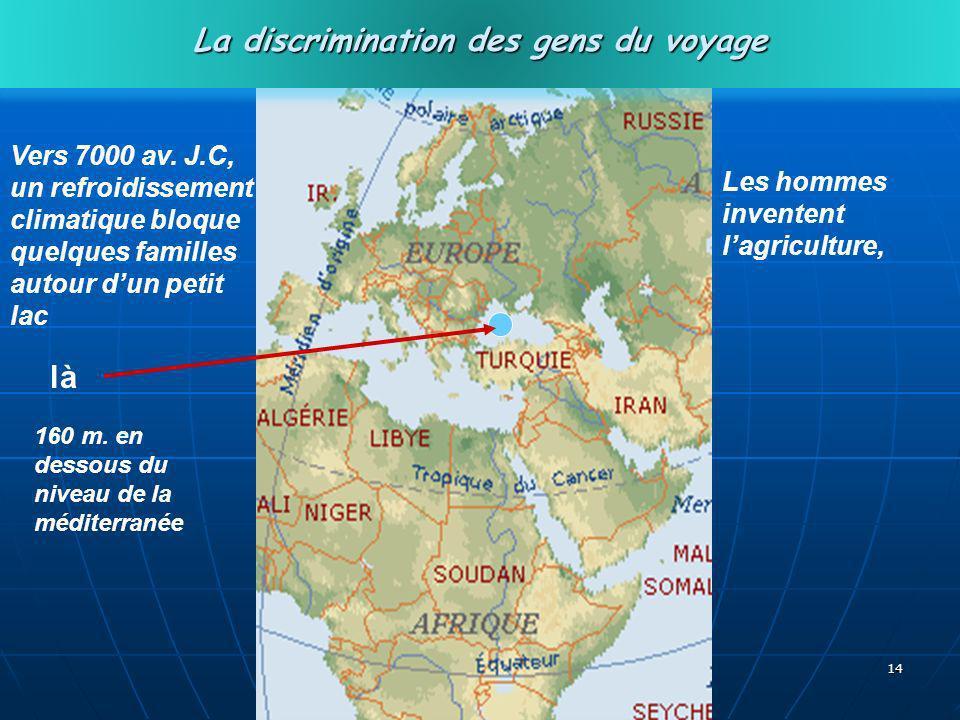 La discrimination des gens du voyage