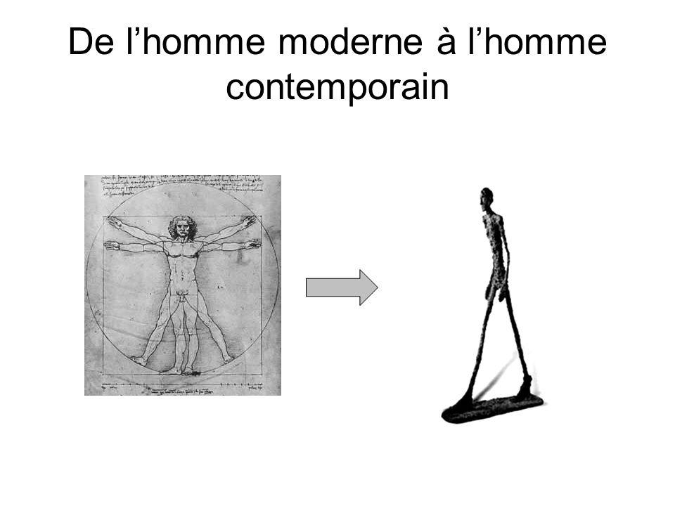 De l'homme moderne à l'homme contemporain