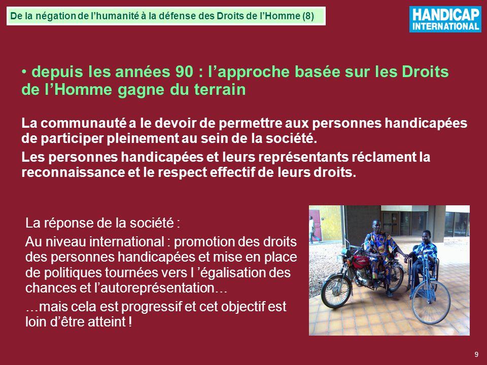 De la négation de l'humanité à la défense des Droits de l'Homme (8)
