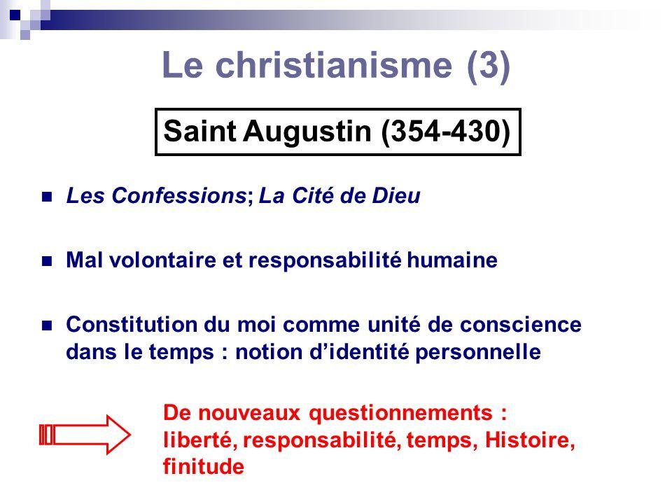 Le christianisme (3) Saint Augustin (354-430)