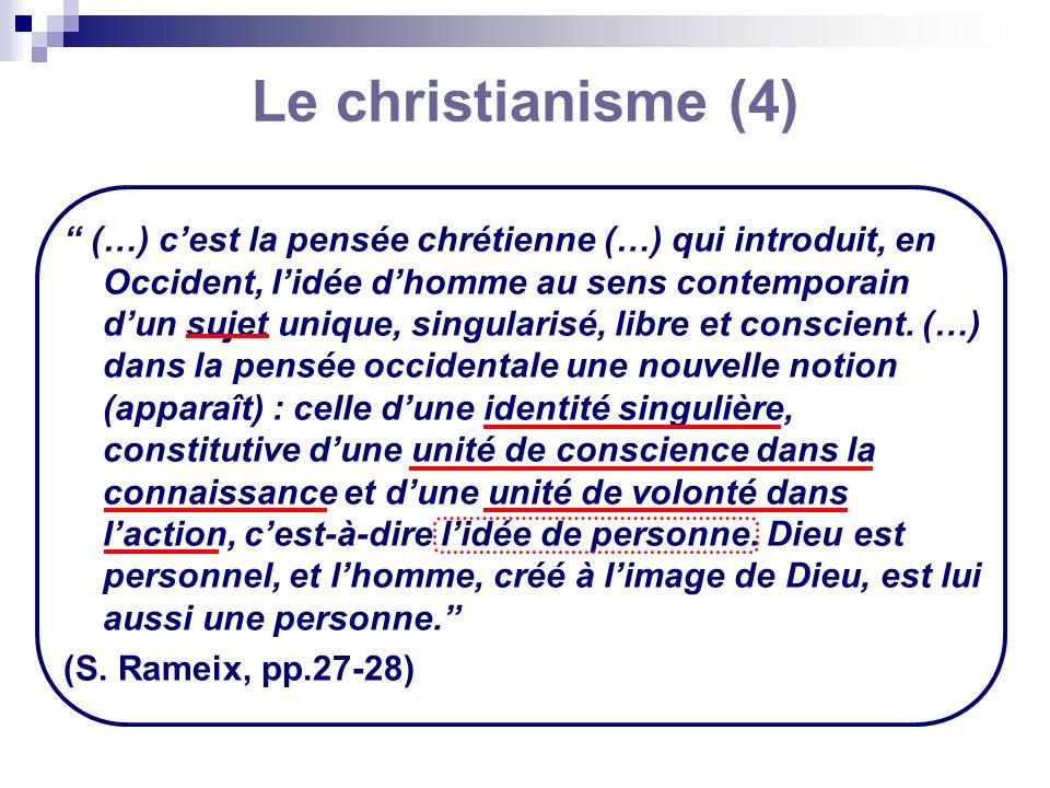 Le christianisme (4)