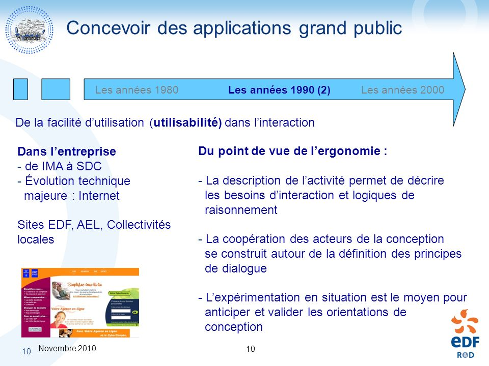 Concevoir des applications grand public