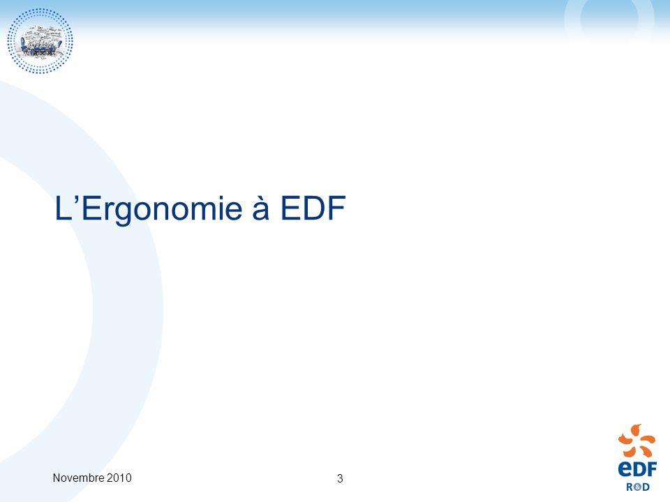 L'Ergonomie à EDF