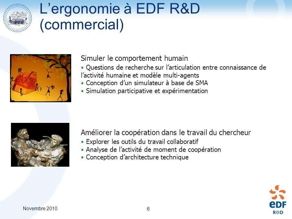 L'ergonomie à EDF R&D (commercial)