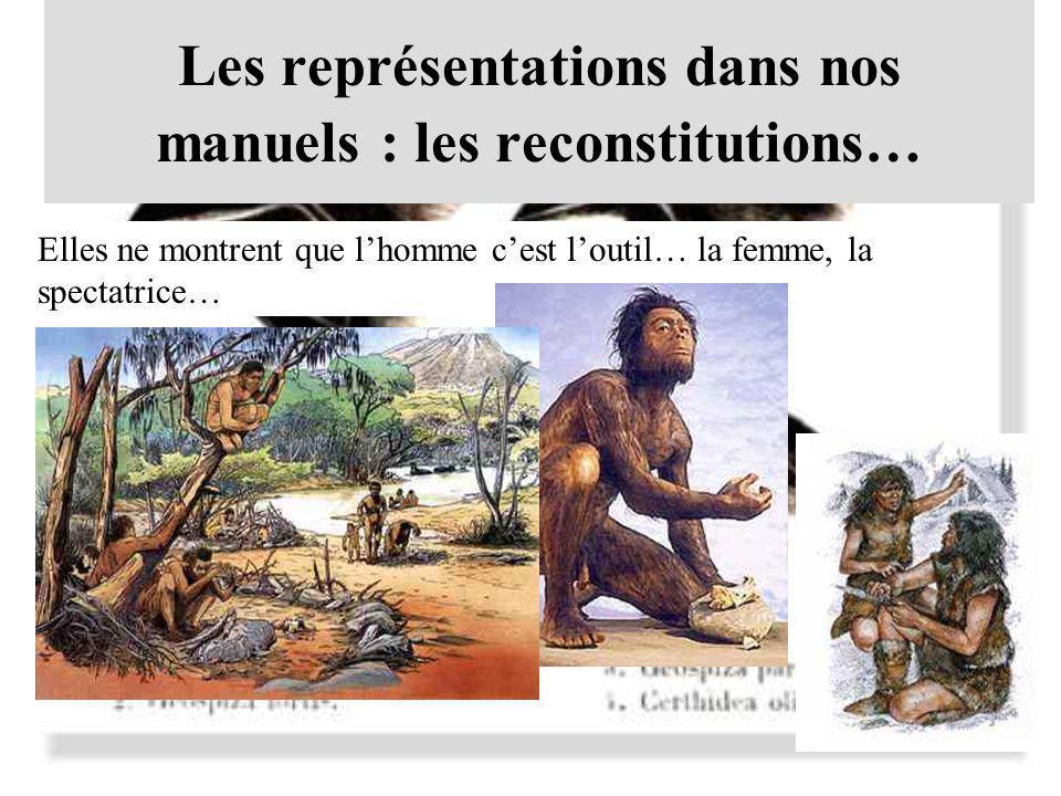 Les représentations dans nos manuels : les reconstitutions…