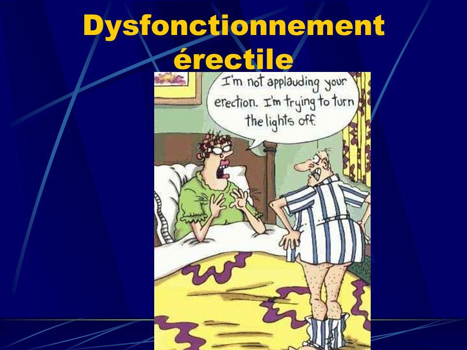 Dysfonctionnement érectile