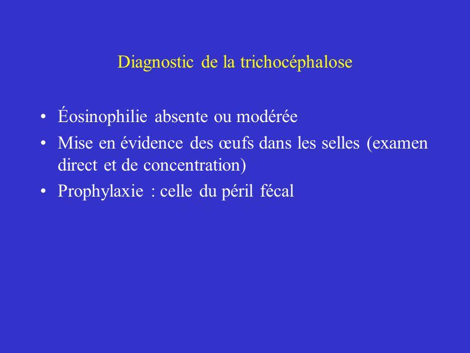 Diagnostic de la trichocéphalose