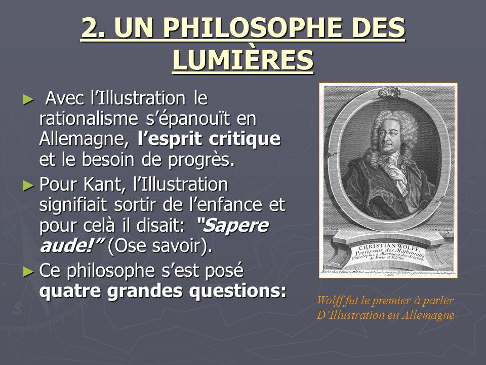 2. UN PHILOSOPHE DES LUMIÈRES