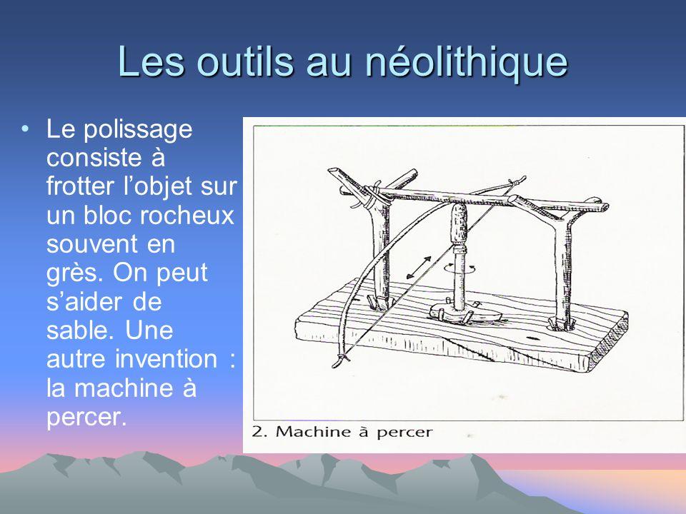 Les outils au néolithique