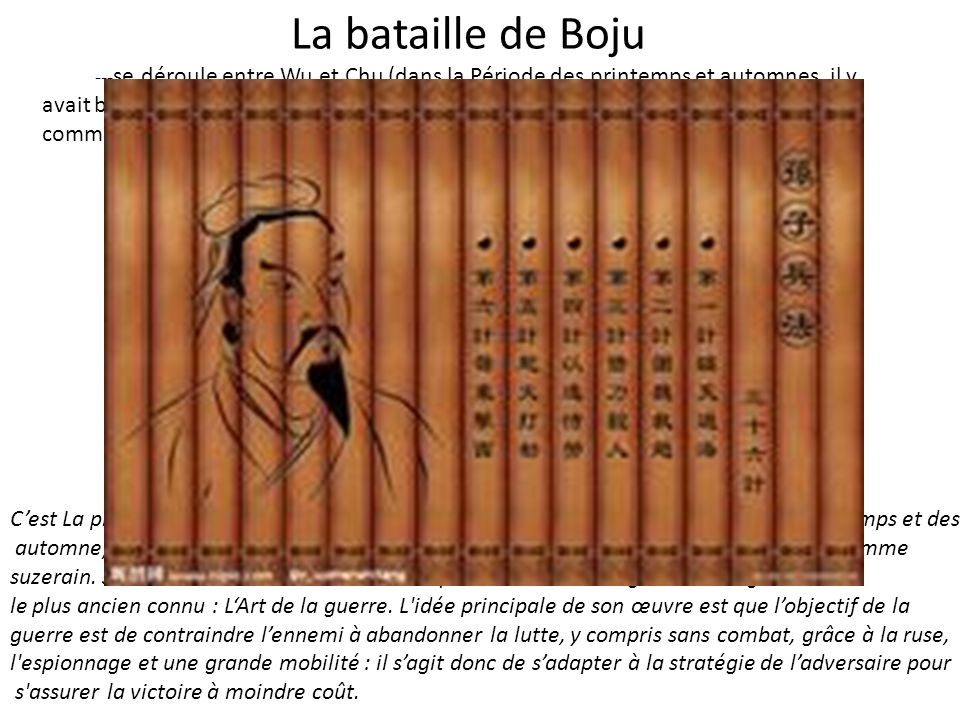 La bataille de Boju VS 1:7 Sunwu孙武 Shen Yixu 沈尹戌