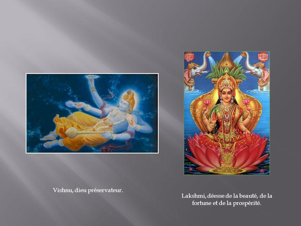 Vishnu, dieu préservateur.