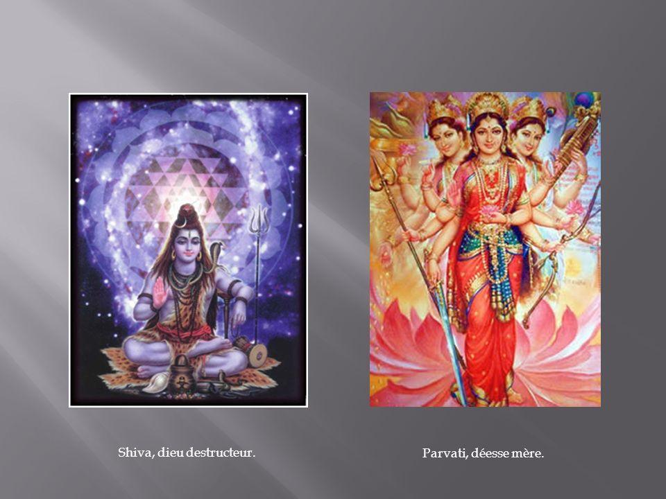 Shiva, dieu destructeur.