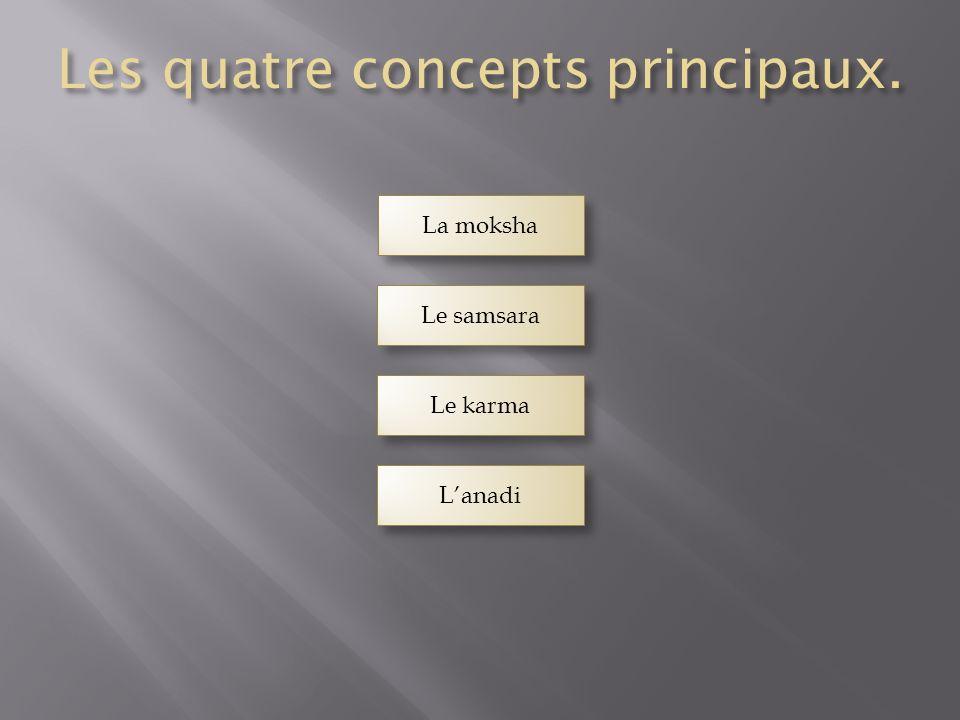Les quatre concepts principaux.