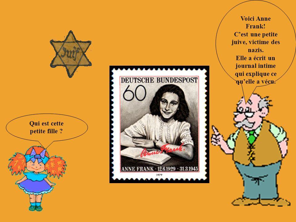 C'est une petite juive, victime des nazis.
