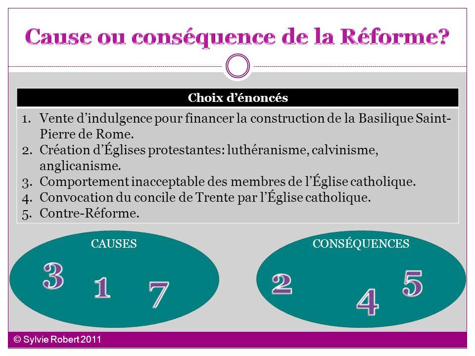 Cause ou conséquence de la Réforme