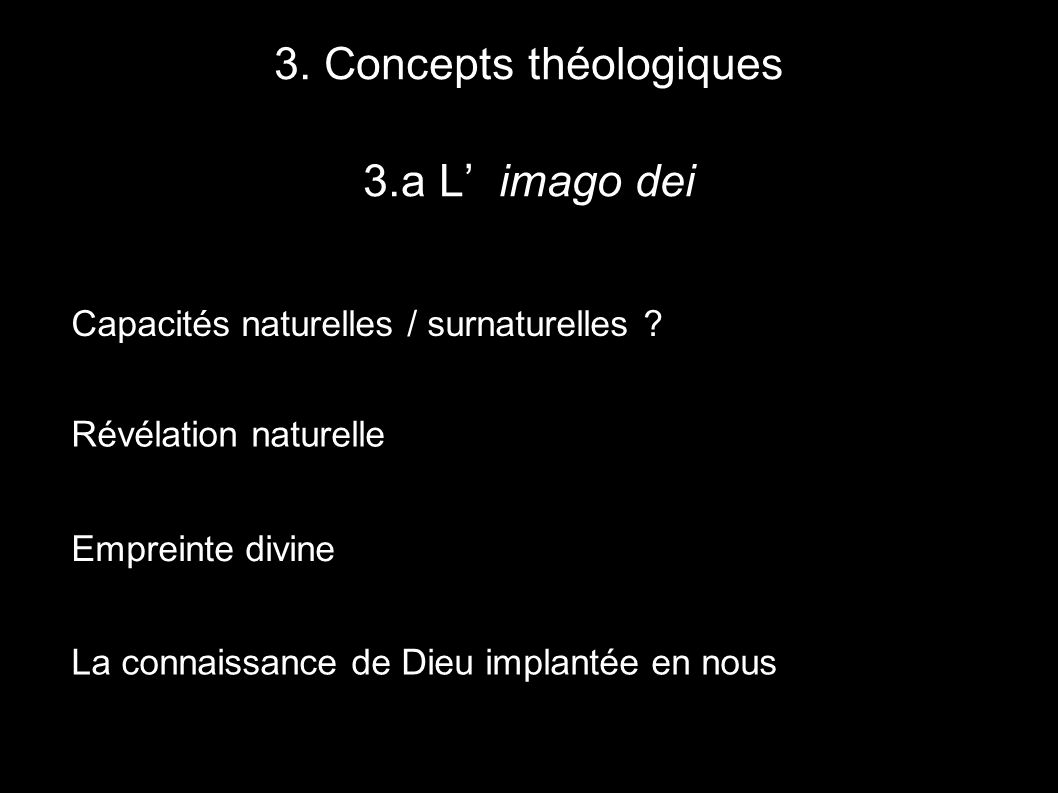 3. Concepts théologiques
