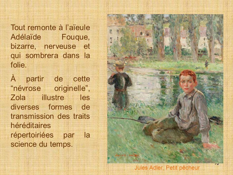 Jules Adler, Petit pêcheur