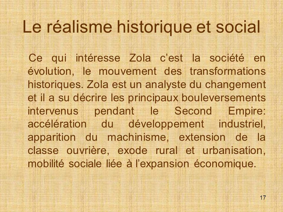 Le réalisme historique et social