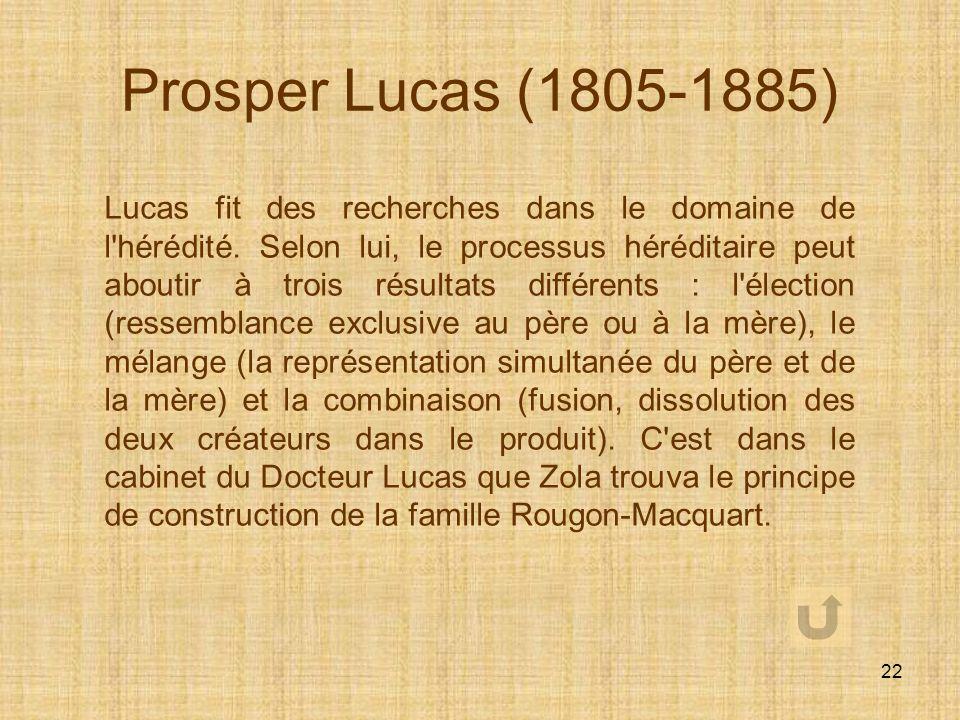 Prosper Lucas (1805-1885)