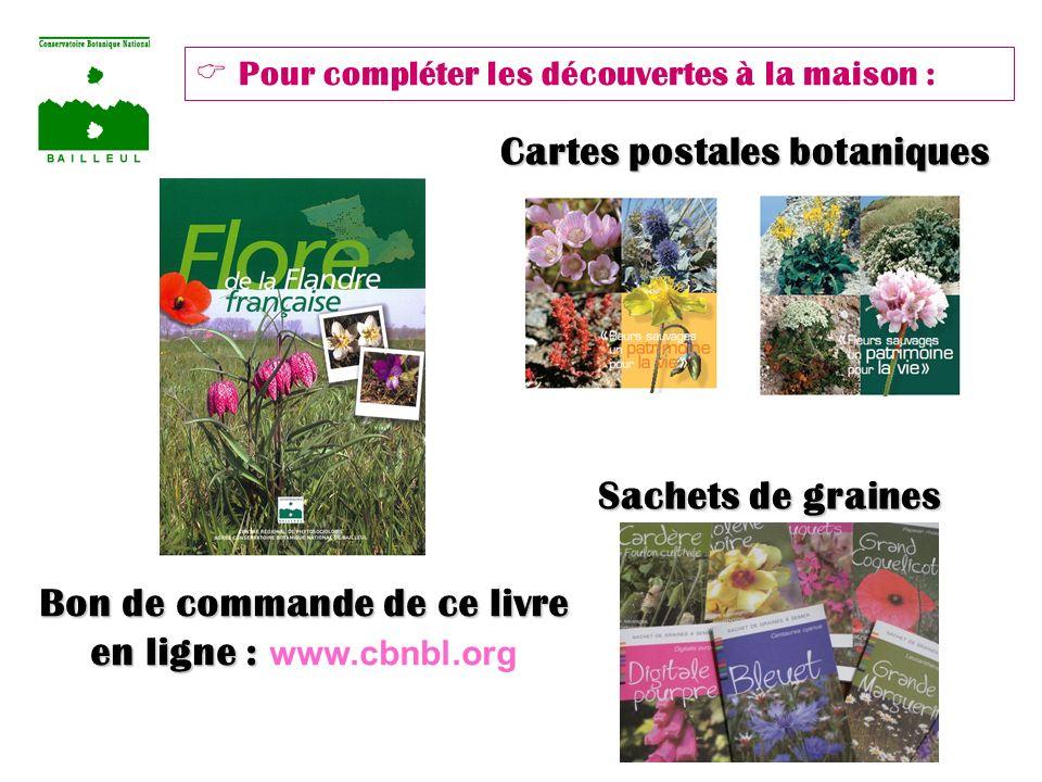 Cartes postales botaniques