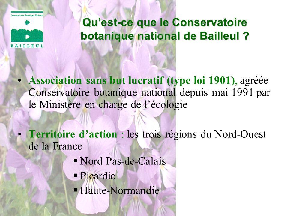 Qu'est-ce que le Conservatoire botanique national de Bailleul