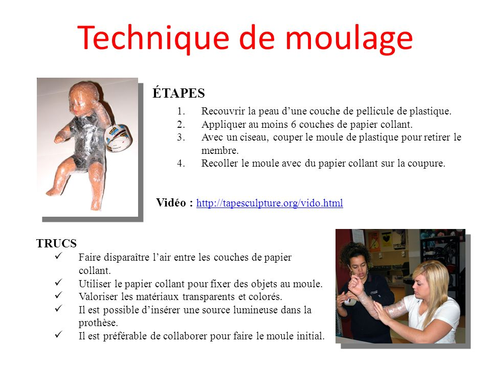 Vidéo : http://tapesculpture.org/vido.html