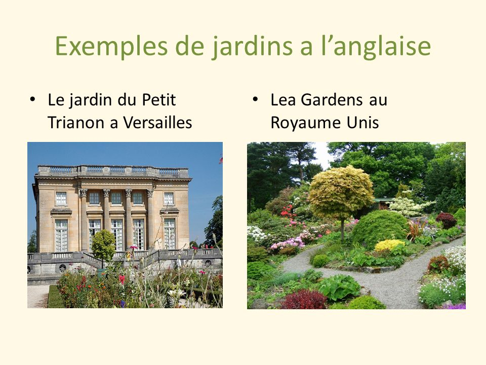 Patrimoine naturel les jardins ppt video online t l charger for Les jardins de lea