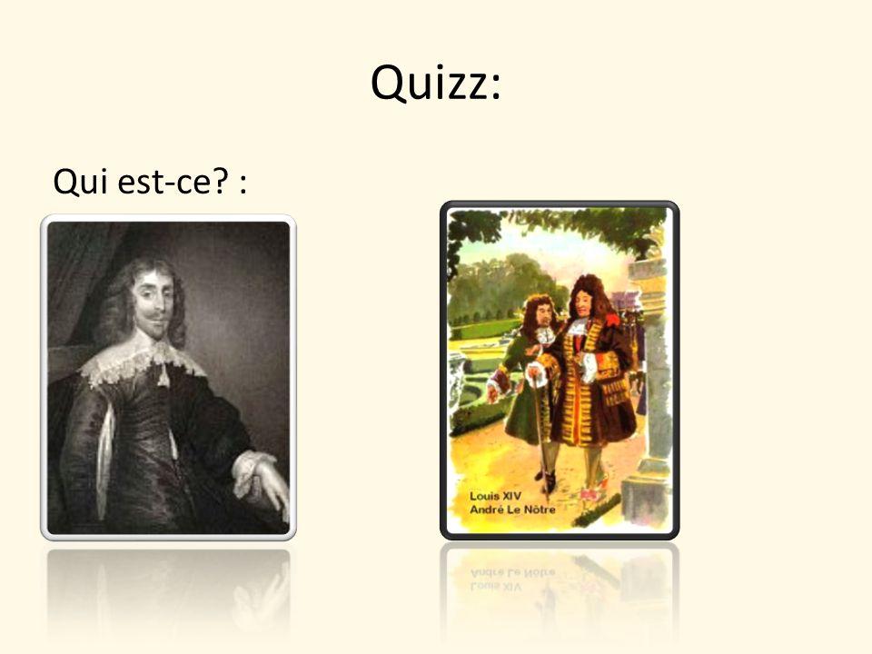 Quizz: Qui est-ce :