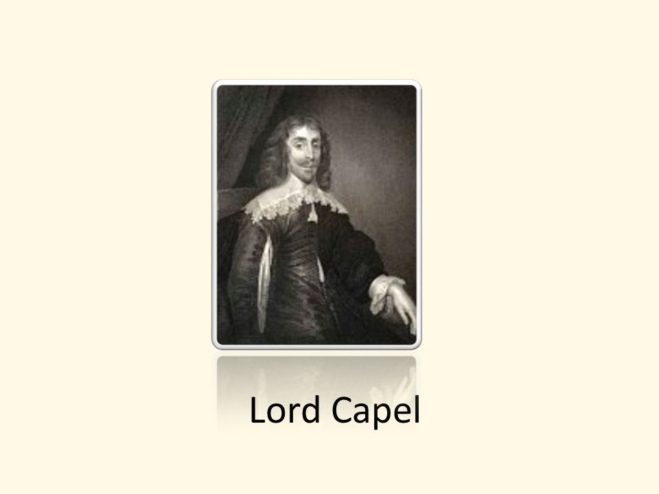 Lord Capel