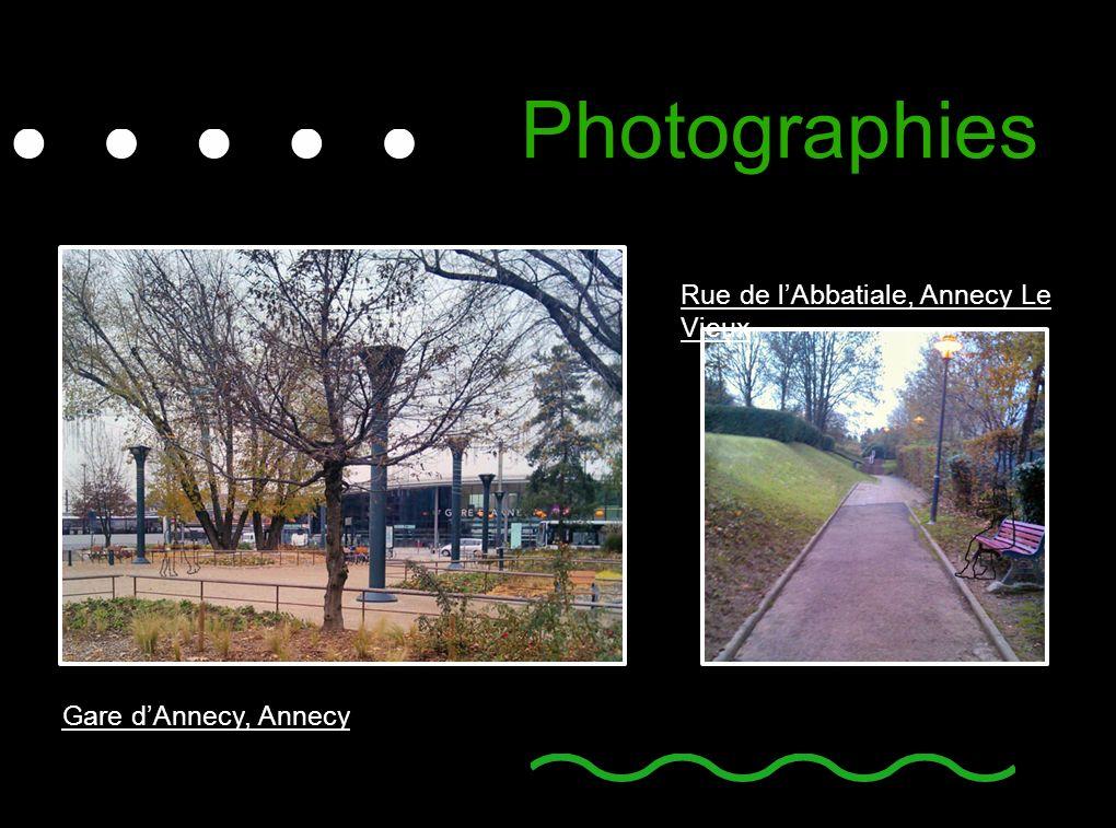 Photographies Rue de l'Abbatiale, Annecy Le Vieux