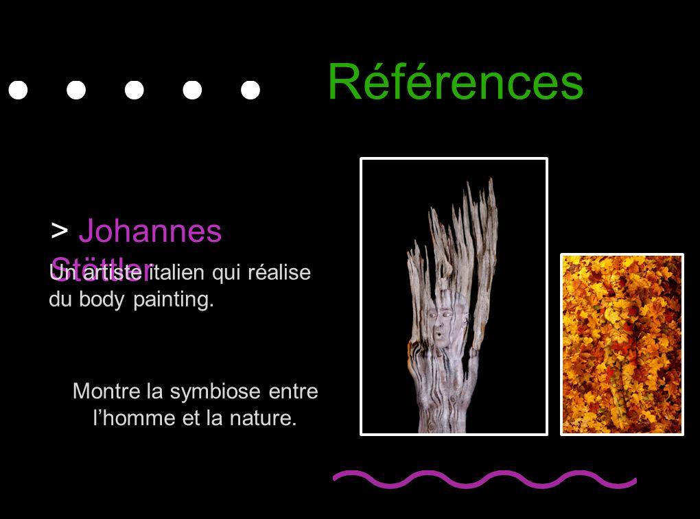 Montre la symbiose entre l'homme et la nature.