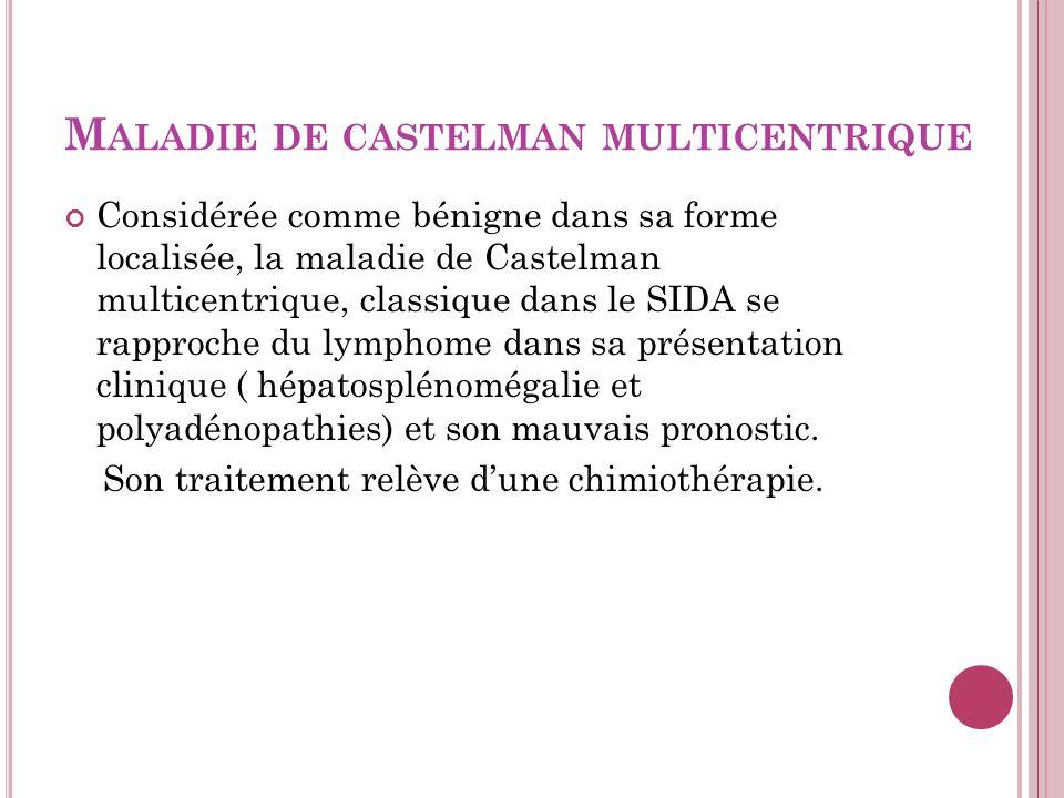 Maladie de castelman multicentrique