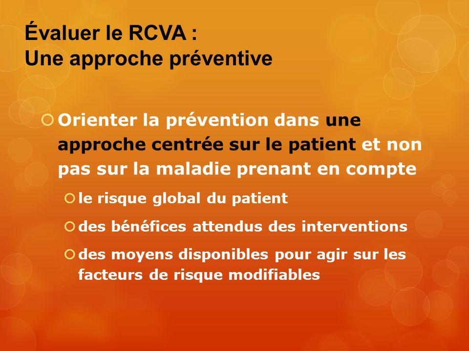 Évaluer le RCVA : Une approche préventive
