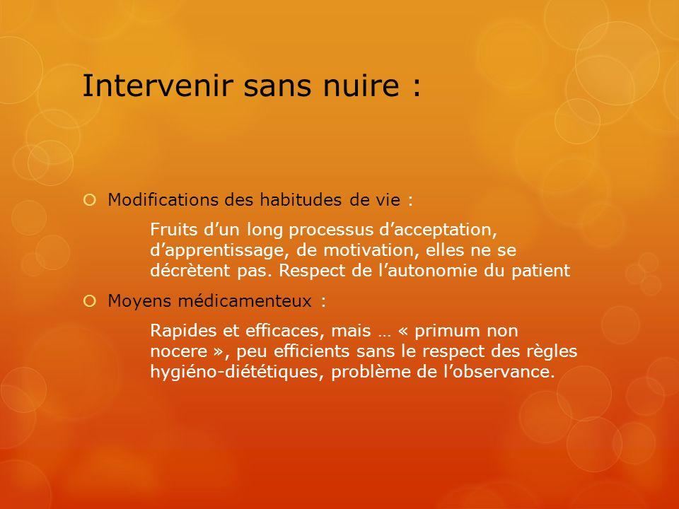 Intervenir sans nuire :