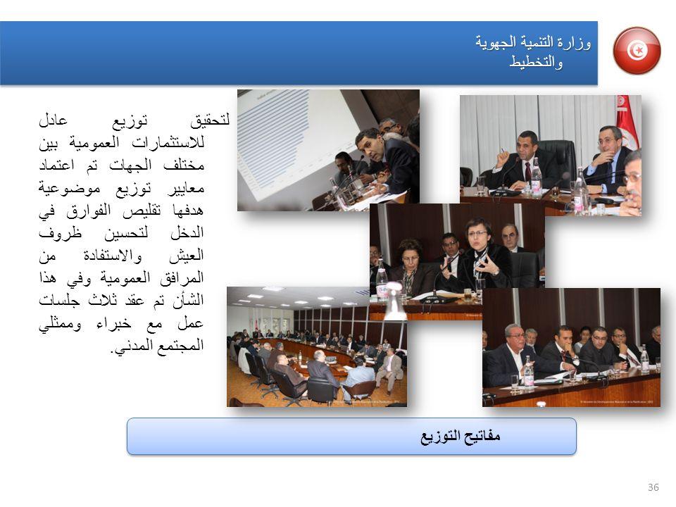 وزارة التنمية الجهوية والتخطيط.