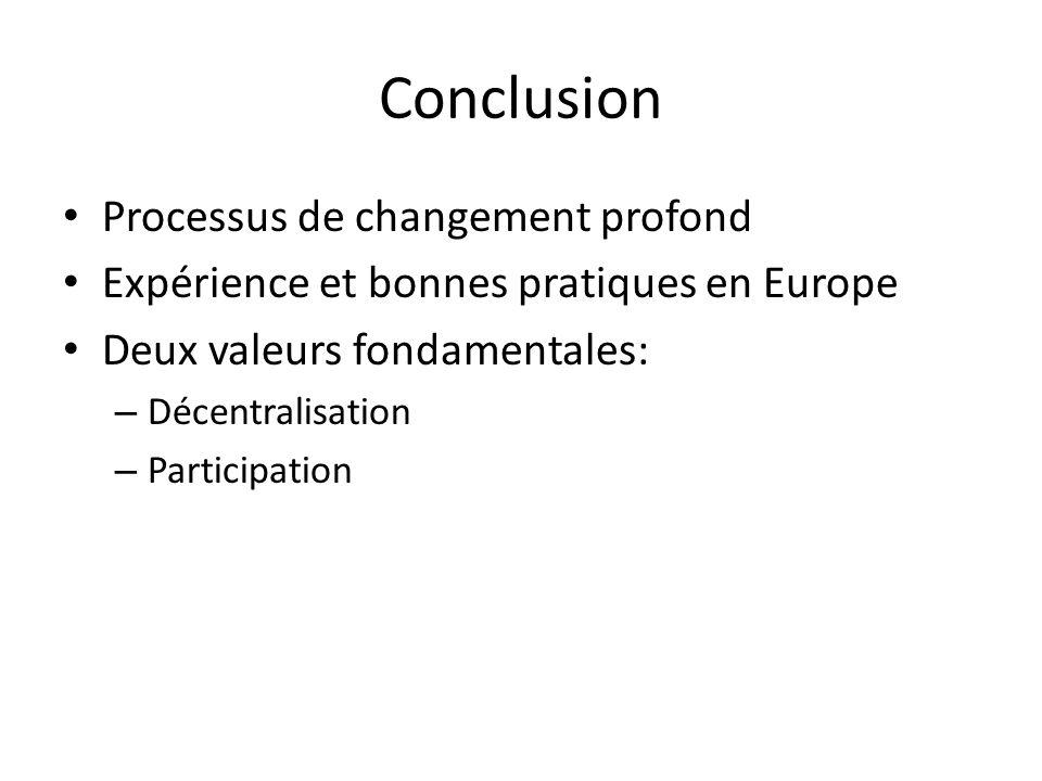 Conclusion Processus de changement profond