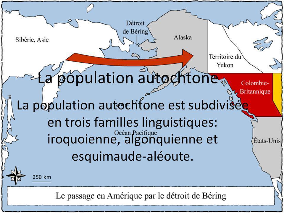La population autochtone