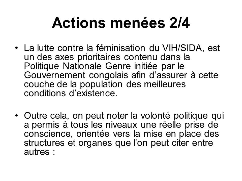 Actions menées 2/4