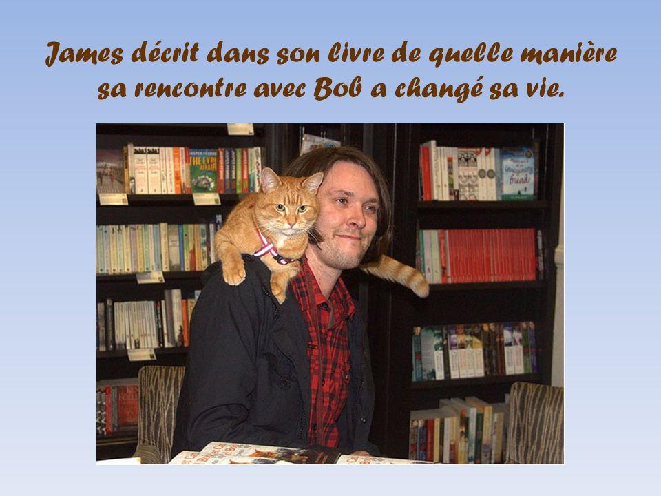 James décrit dans son livre de quelle manière sa rencontre avec Bob a changé sa vie.