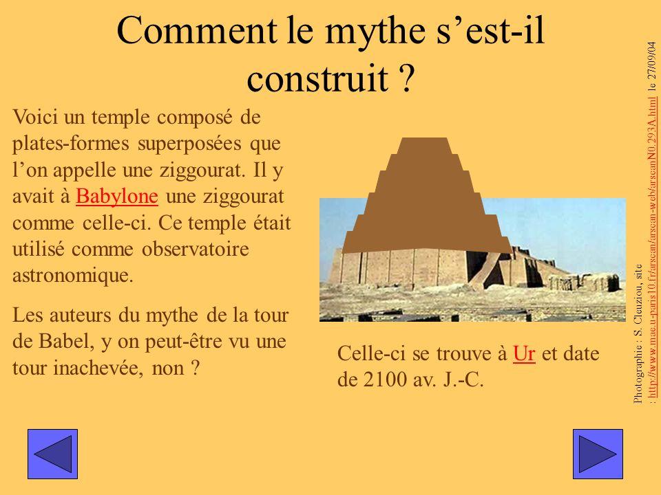 Comment le mythe s'est-il construit