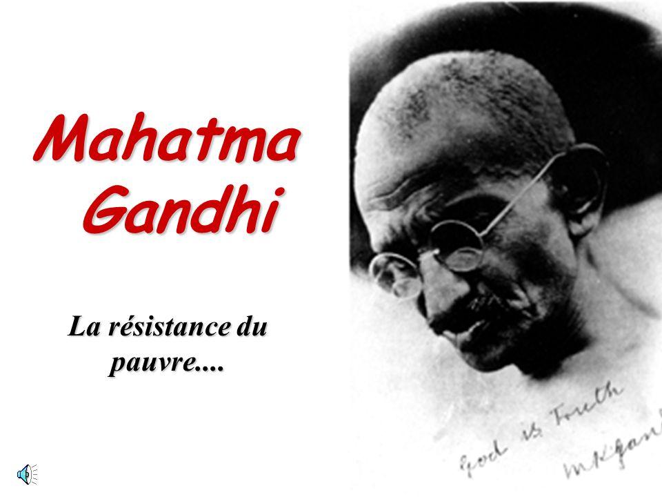 La résistance du pauvre....